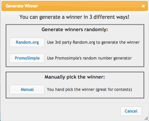 Select-giveaway-winners