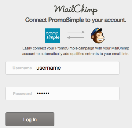 MailChimp-authorize