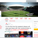 Twitter AFL profile design