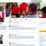 Twitter profile design FLOTUS