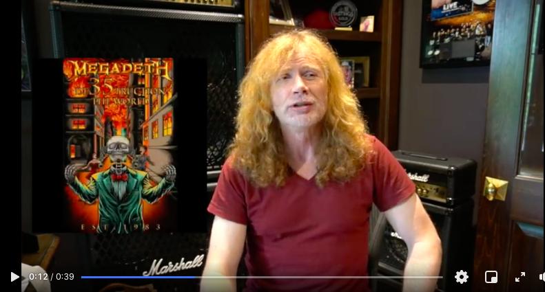 Megadeth's poster design contest
