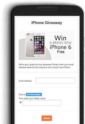 create giveaways contests run sweepstakes promosimple