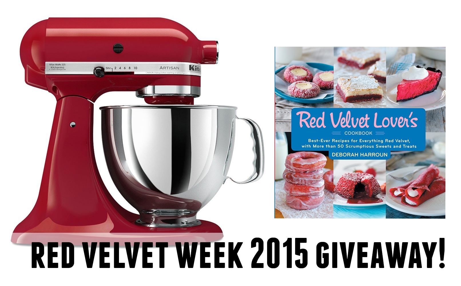Red Kitchenaid Mixer Cookbook Giveaway. Red Velvet Quick Bread With Cream  Cheese Filling Taste And Tell