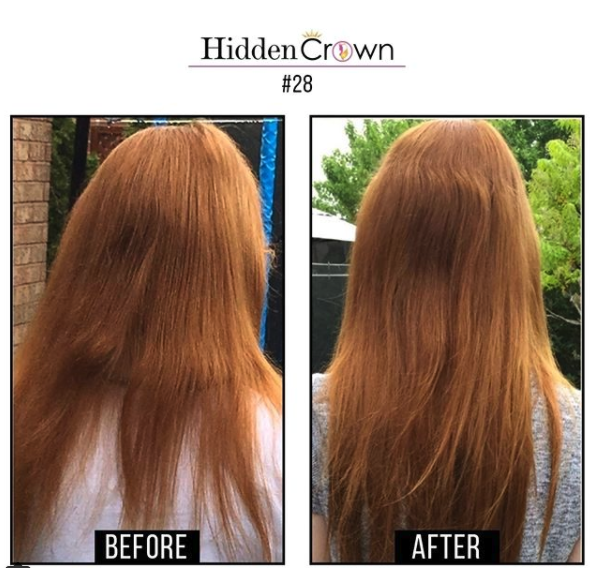 Day 1 Hidden Crown Hair Extensions 12 Days Of Christianson Dr