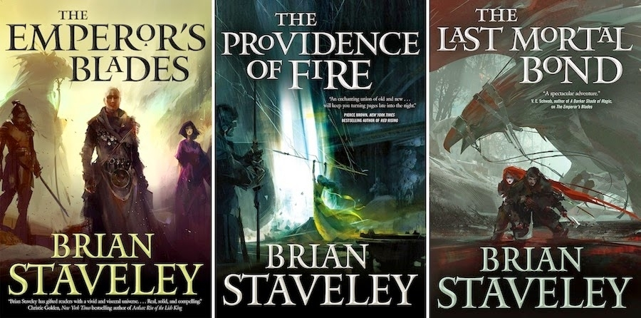 Image result for brian staveley books