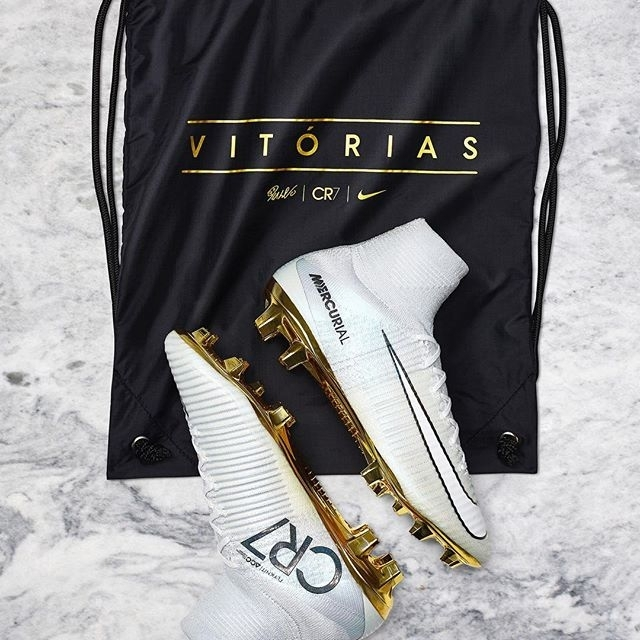 34015fe6f68d One lucky winner will have the opportunity to win a pair of limited edition  the Nike CR7 Mercurial Superfly Vitorias from World Soccer Shop.