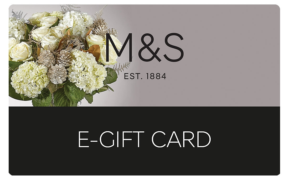 Win one of two £25 Marks & Spencer Gift Cards