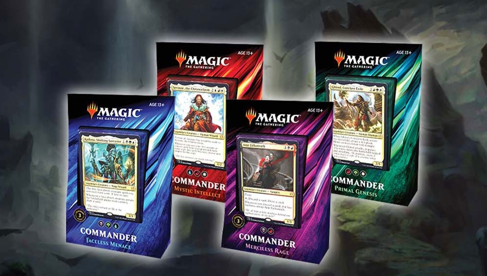 Enter To Win A Set Of Commander 2019! – The Mana Base